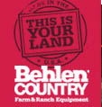 Minden Mercantile & Feed Co. Inc. carries products by Behlen Country
